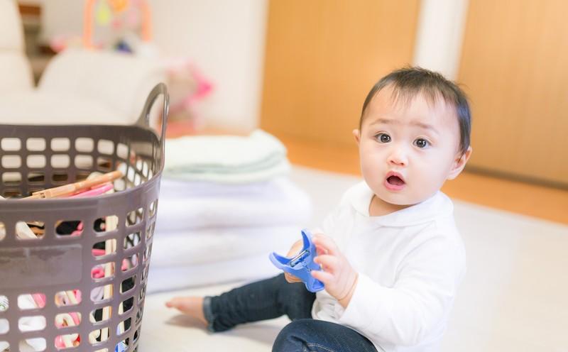 洗濯物 赤ちゃん 家事
