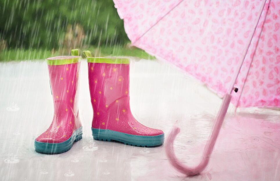 雨 長靴 傘