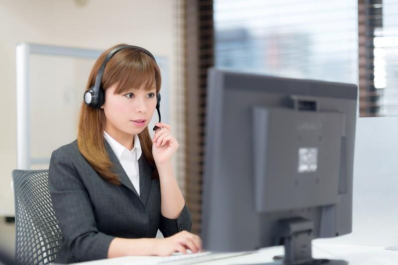 女性 仕事 コールセンター