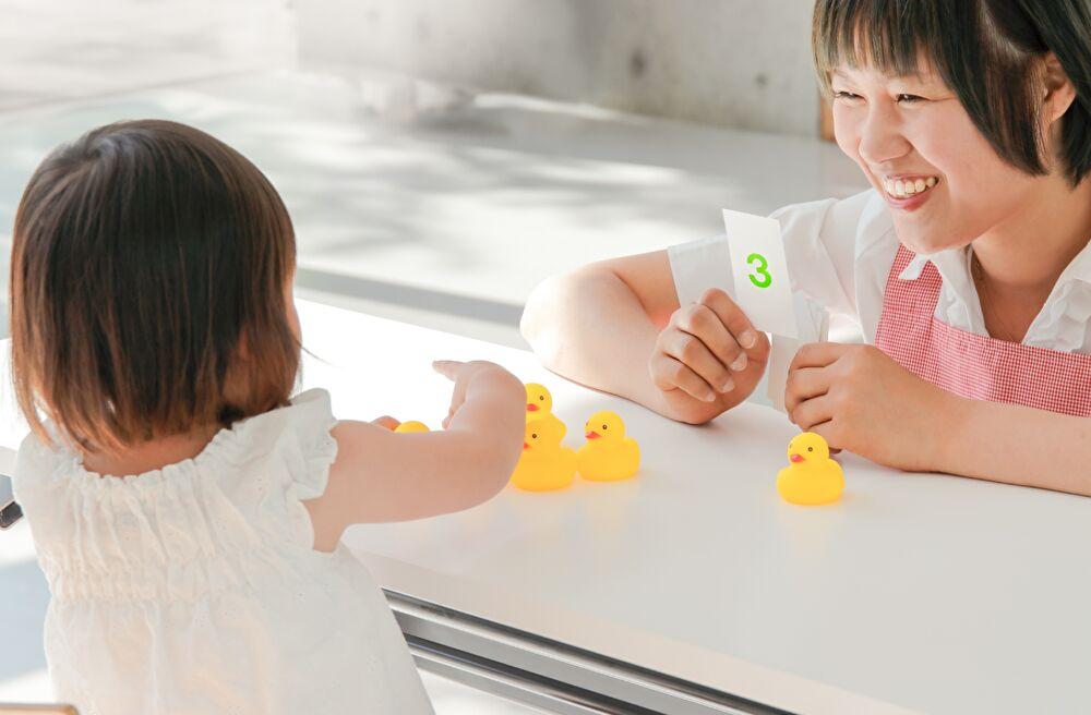 保育園 知育 保育士 子供 遊び 数字 3