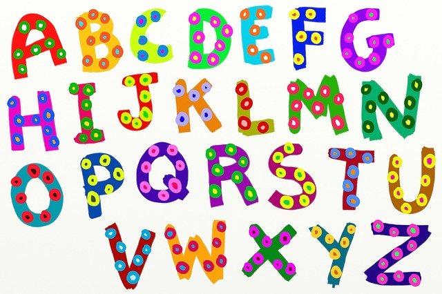 アルファベット 英語