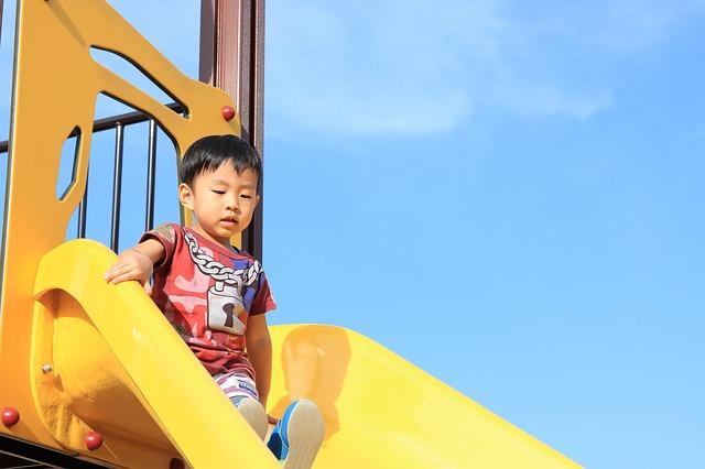 子ども 遊具 滑り台