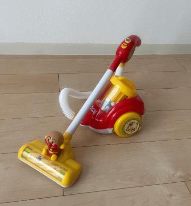 アイキャッチ アンパンマンの掃除機