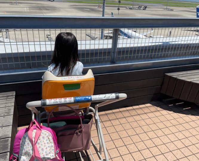 羽根田空港 ベビーカー