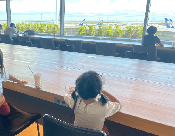 羽根空港ラウンジPOWER LOUNGE CENTRAL