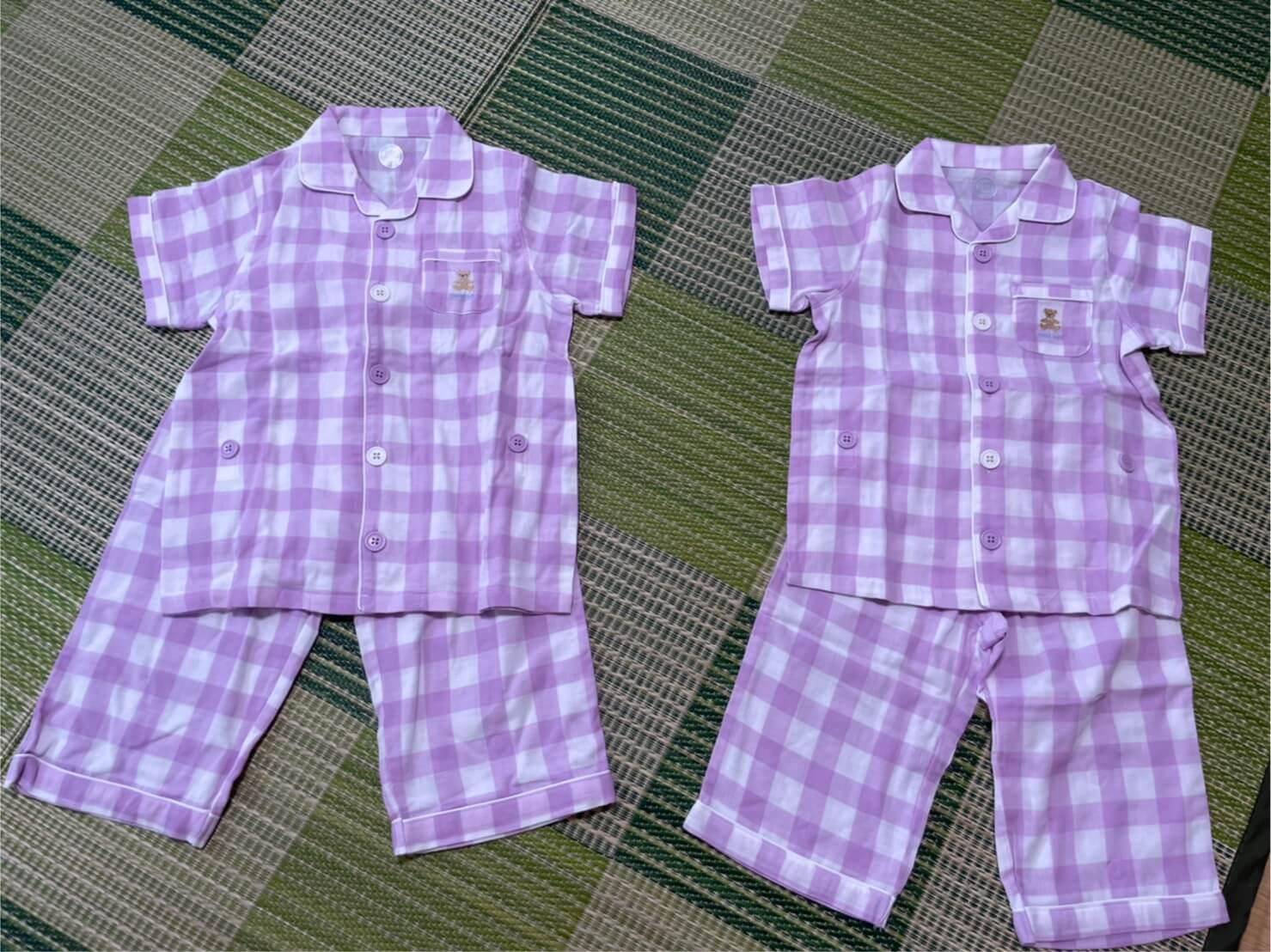 コンビミニの姉妹お揃いパジャマ