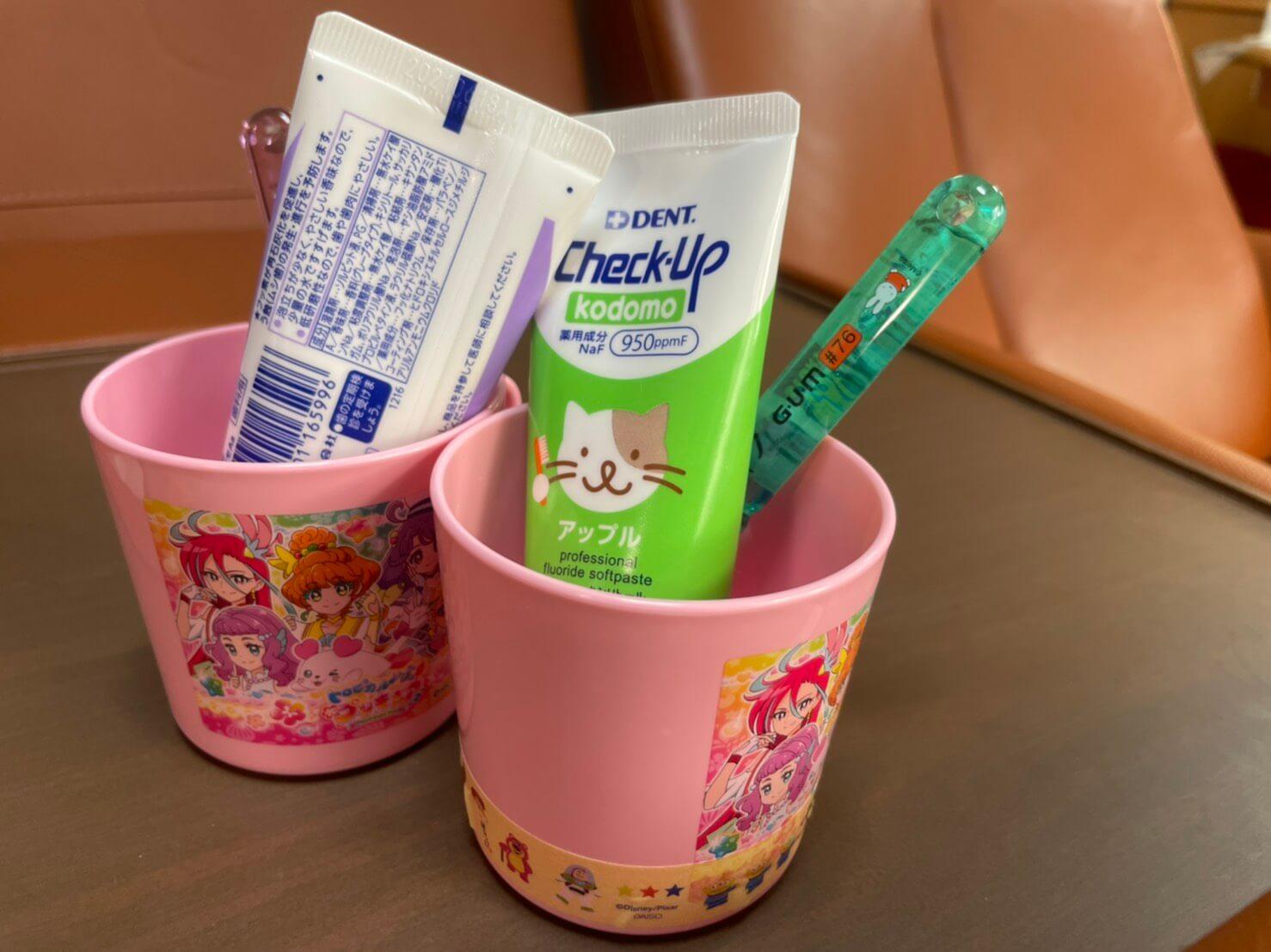 子どもの歯ブラシ