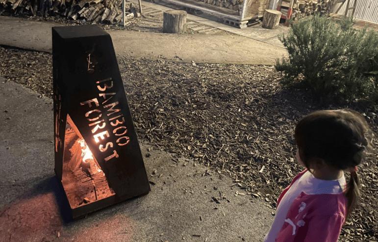 バンブーフォレストの焚火